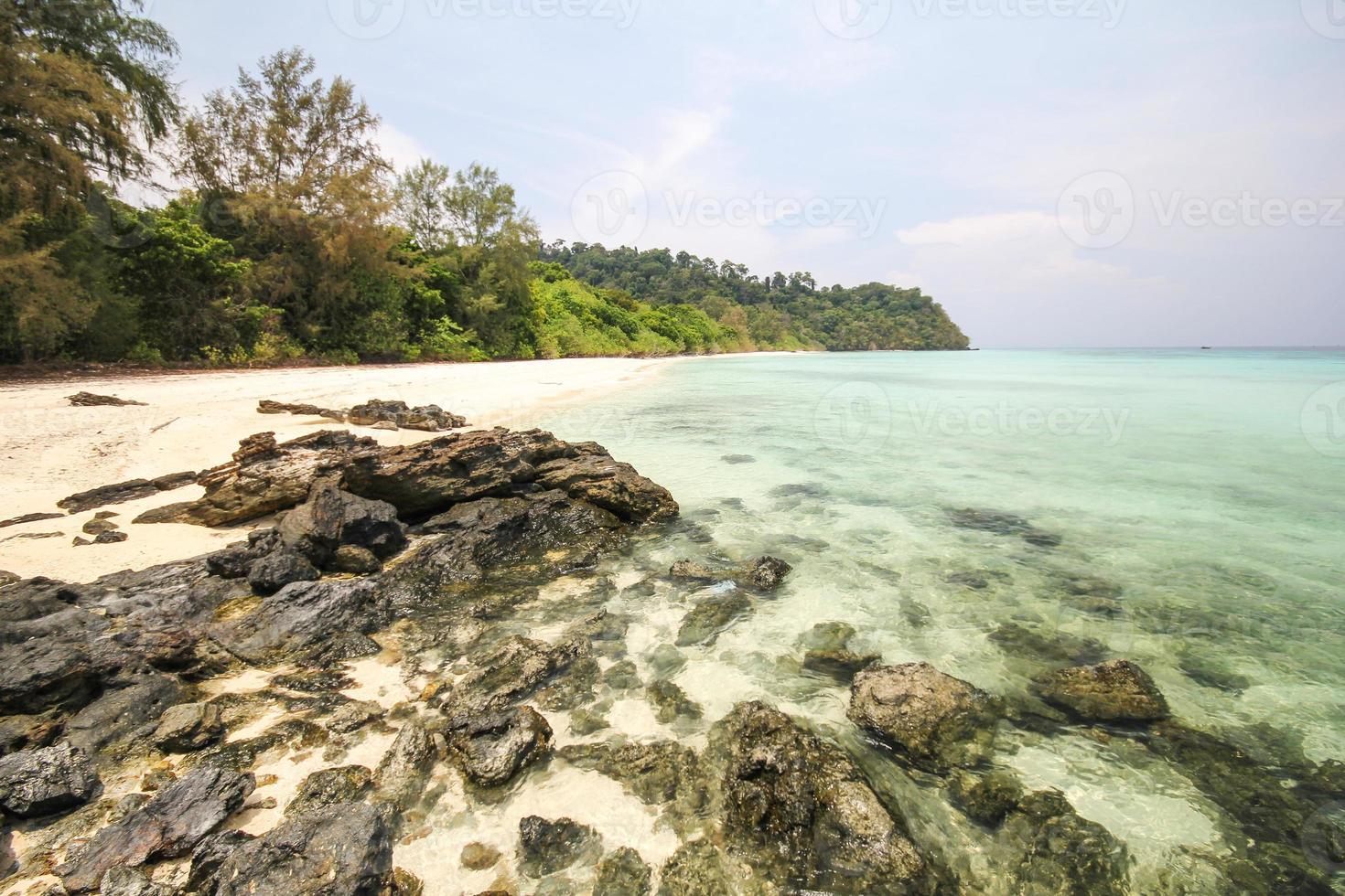 isla de rok, koh rok, provincia de trang tailandia foto