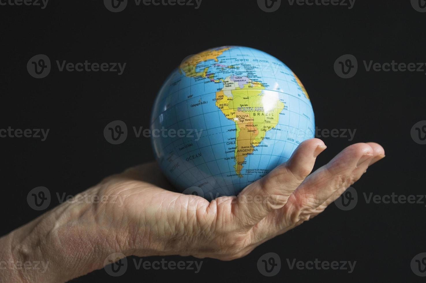 World in your hand photo