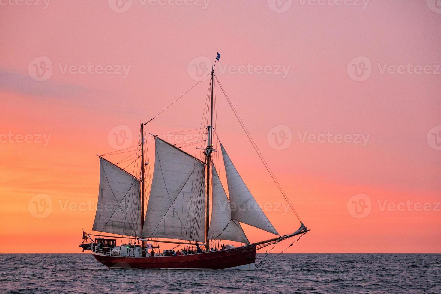 Sailing ship on the Baltic Sea photo