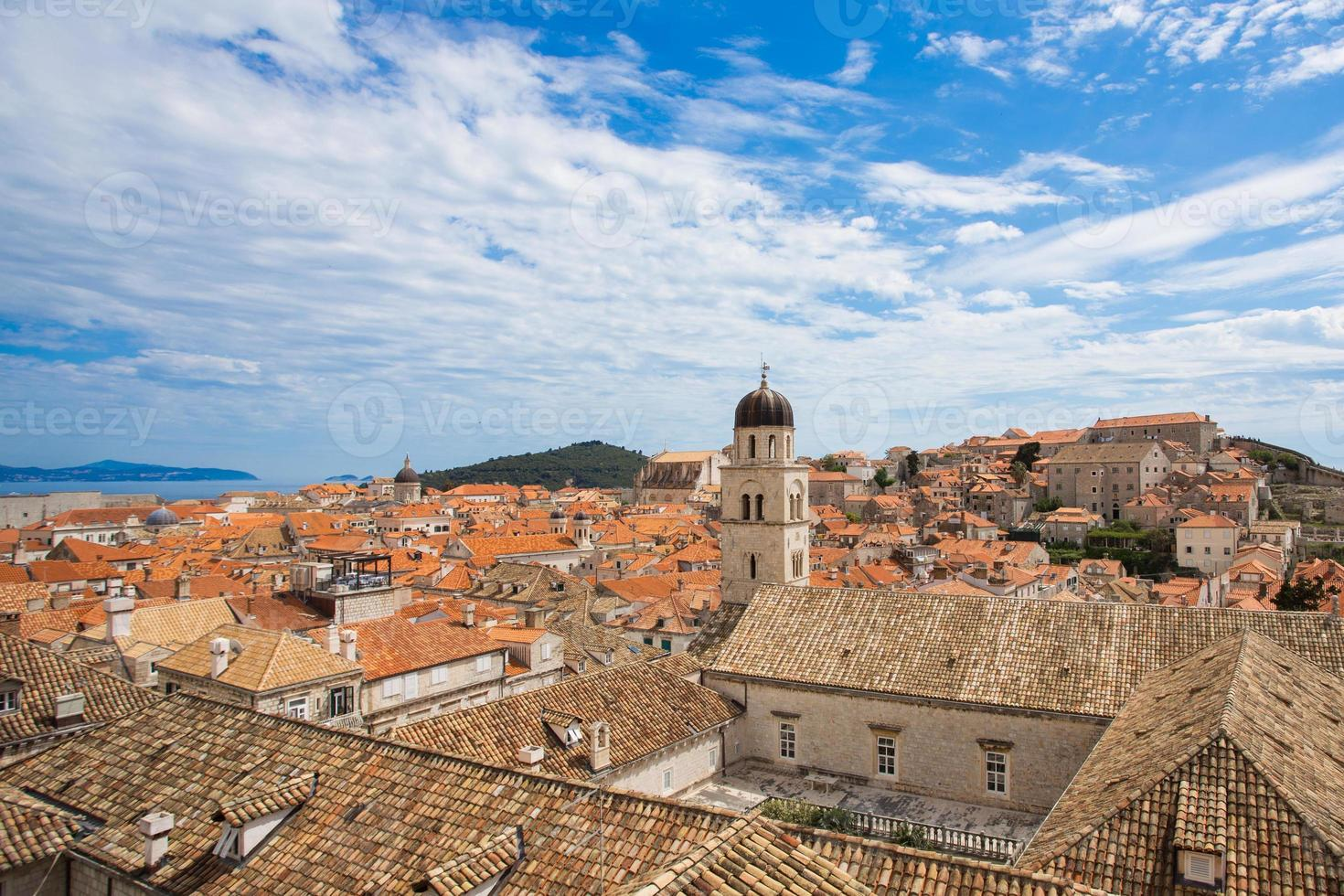 The roofs of Dubrovnik photo