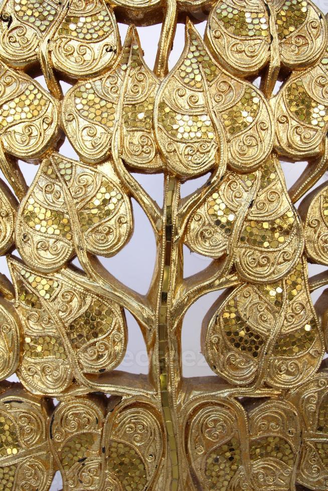 die goldenen Holzschnitzereien foto