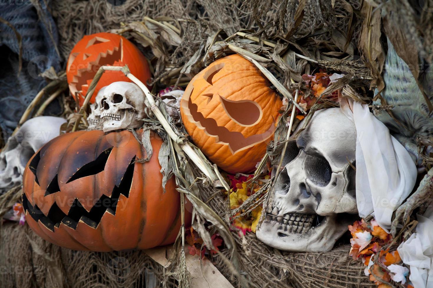 décorations d'Halloween photo