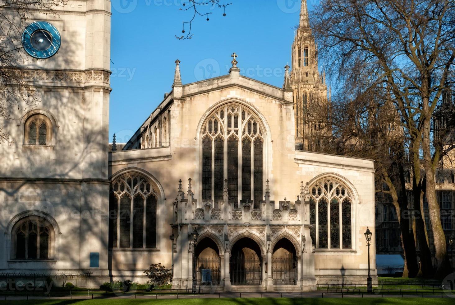 capilla en la abadía de westminster foto