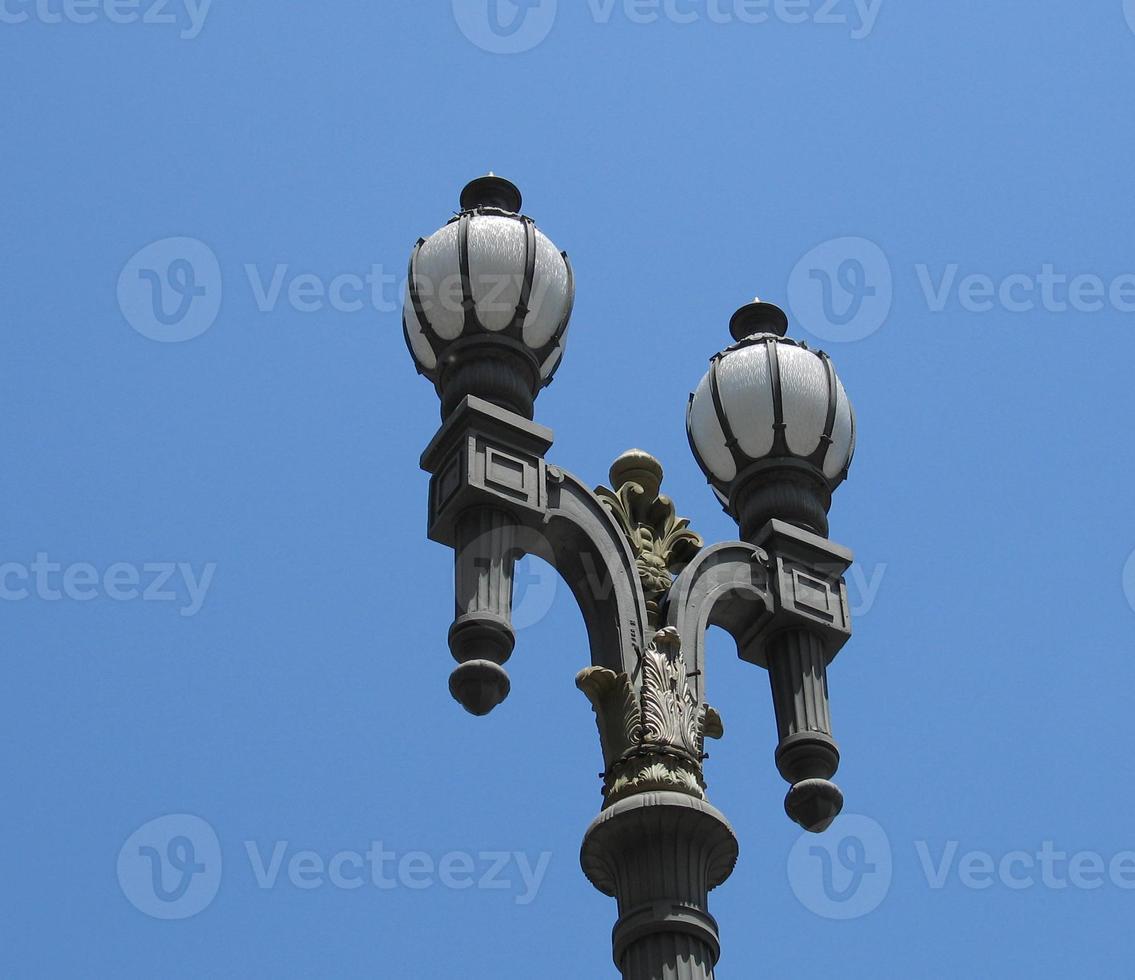 poste de lâmpada chique foto