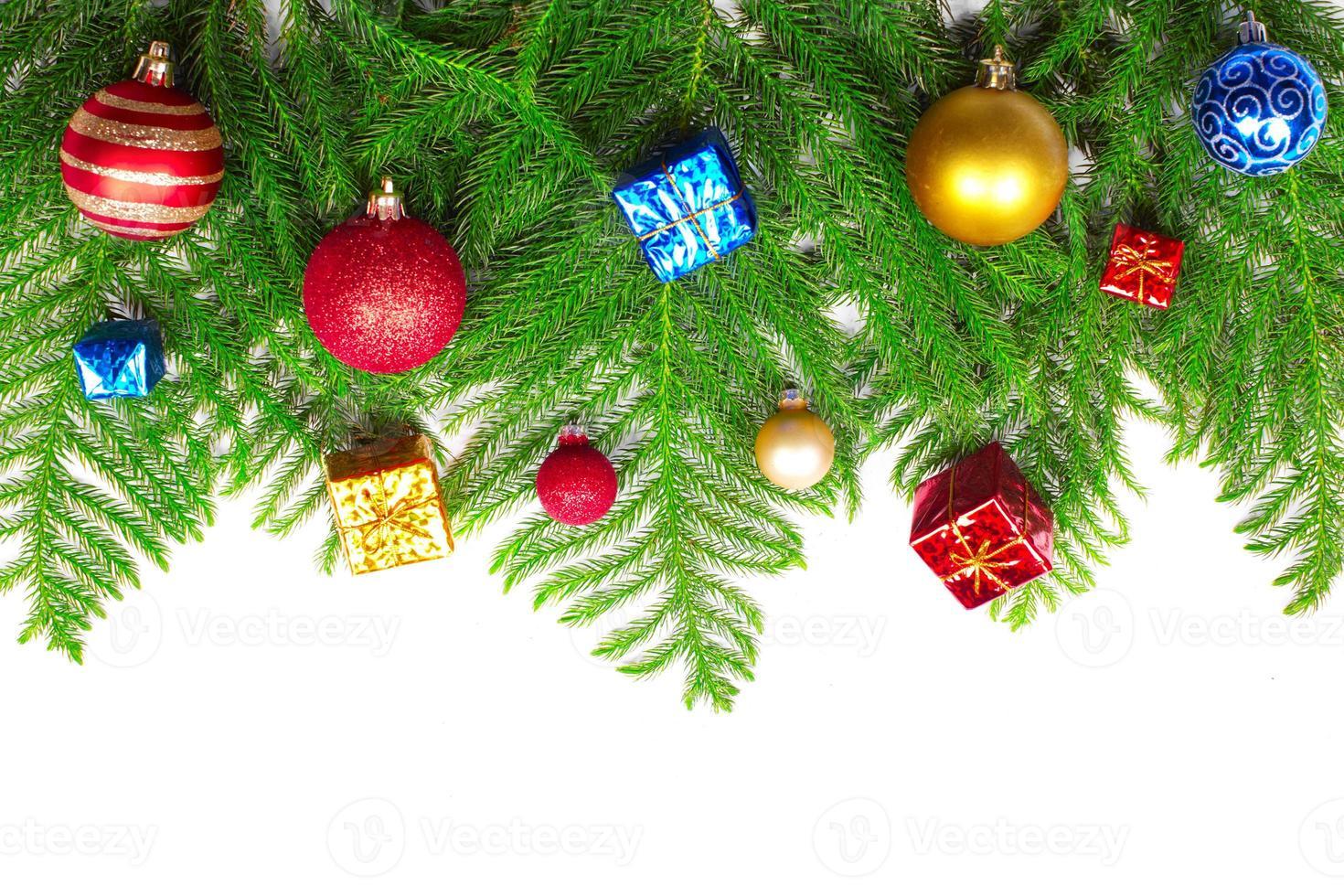 Christmas tree decoration. photo