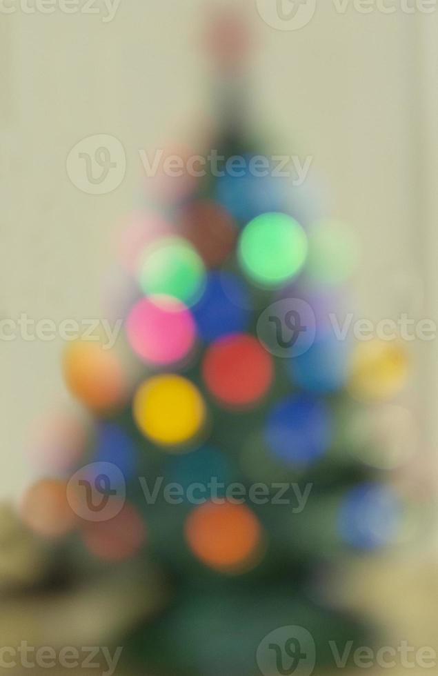 zachte kerstboom foto