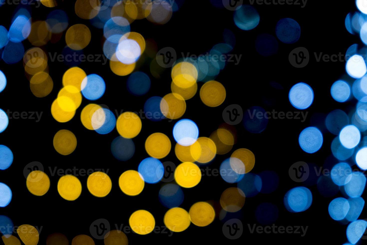 bokeh colorido luz de fundo abstrato foto
