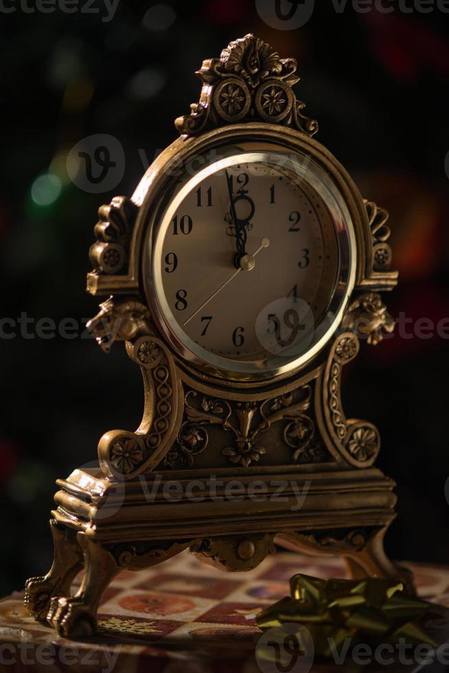 reloj de navidad foto
