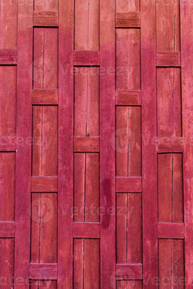 fond de mur en bois de style thaïlandais. photo