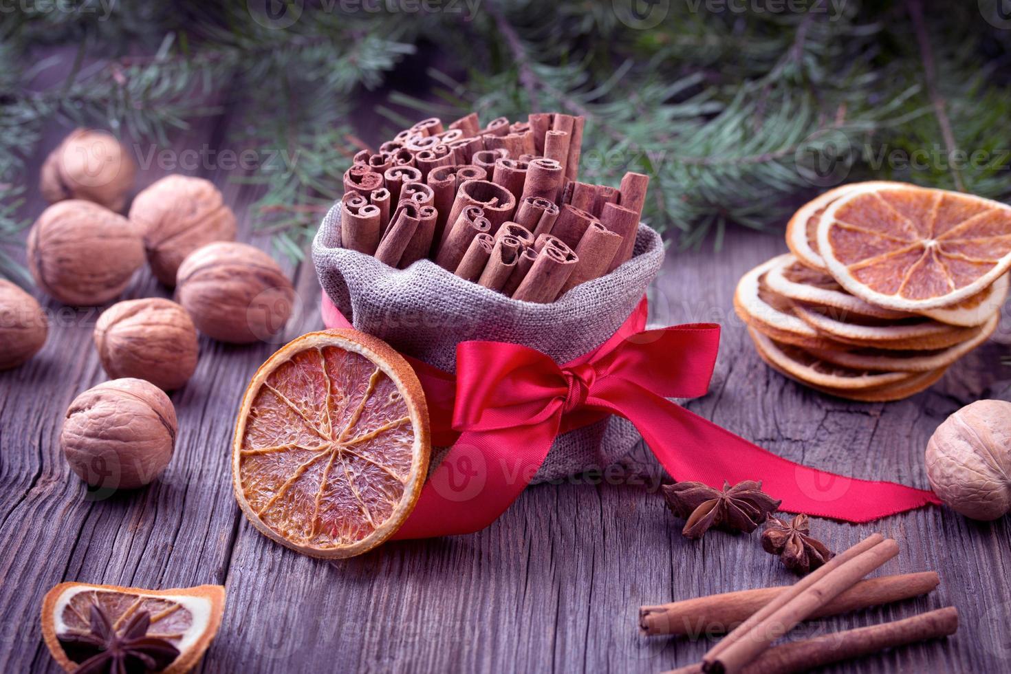 traditionele kerstkruiden foto