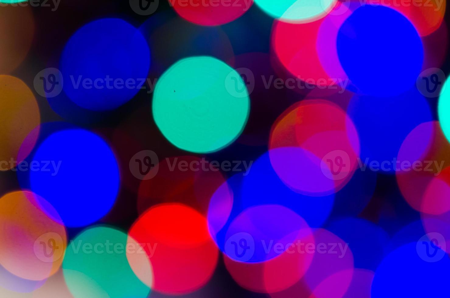 Weihnachten Bokeh verwischen Hintergrund foto