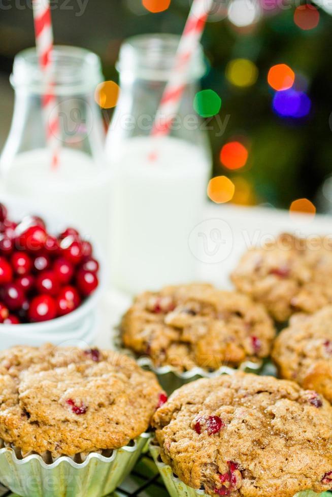 Crunberry muffin photo