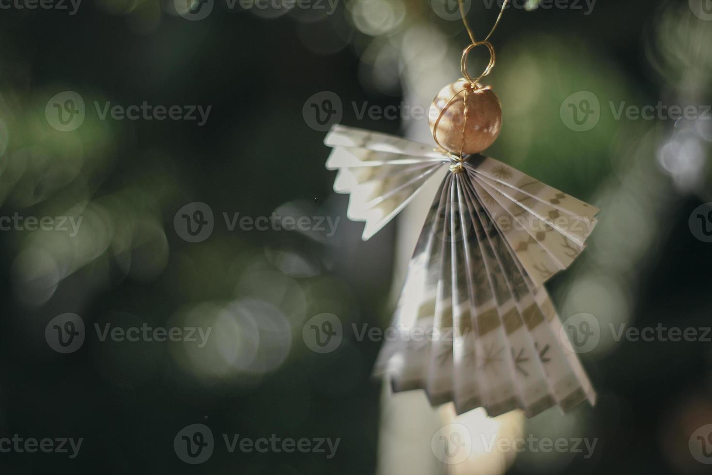 bewerkte engel foto