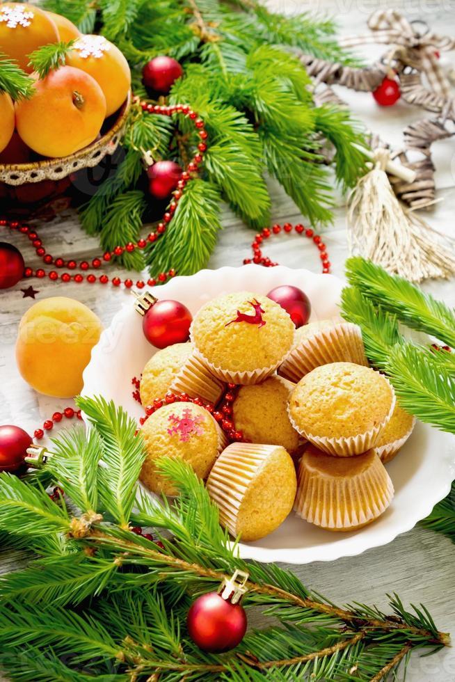 christmas cakes photo