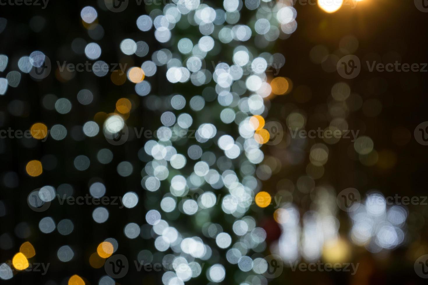 Kerst bokeh achtergrond foto