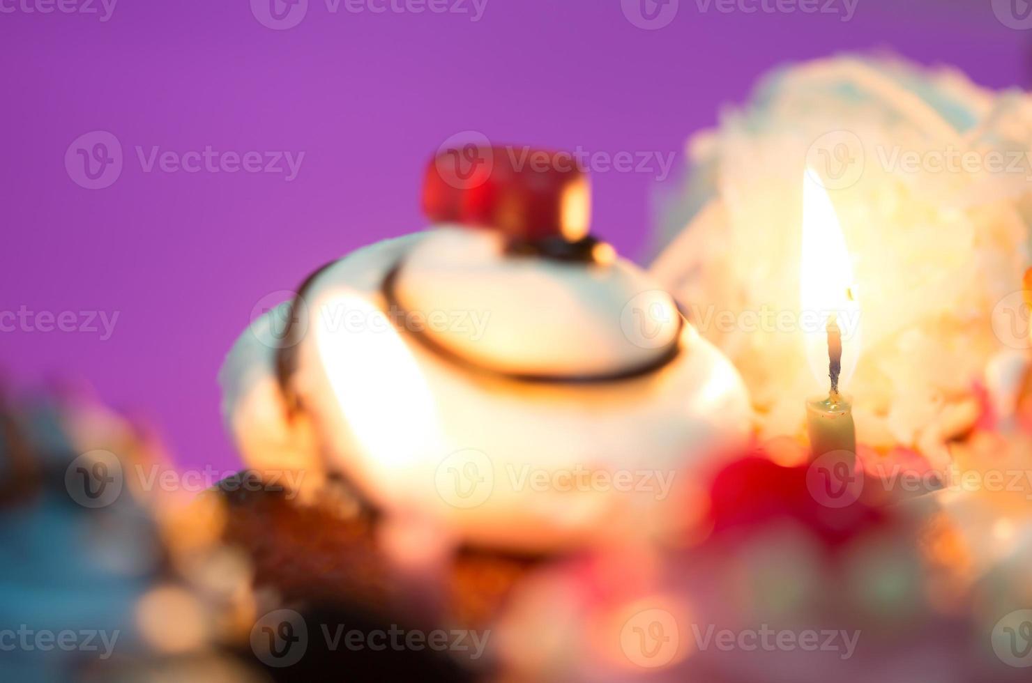 cupcakes de cumpleaños foto