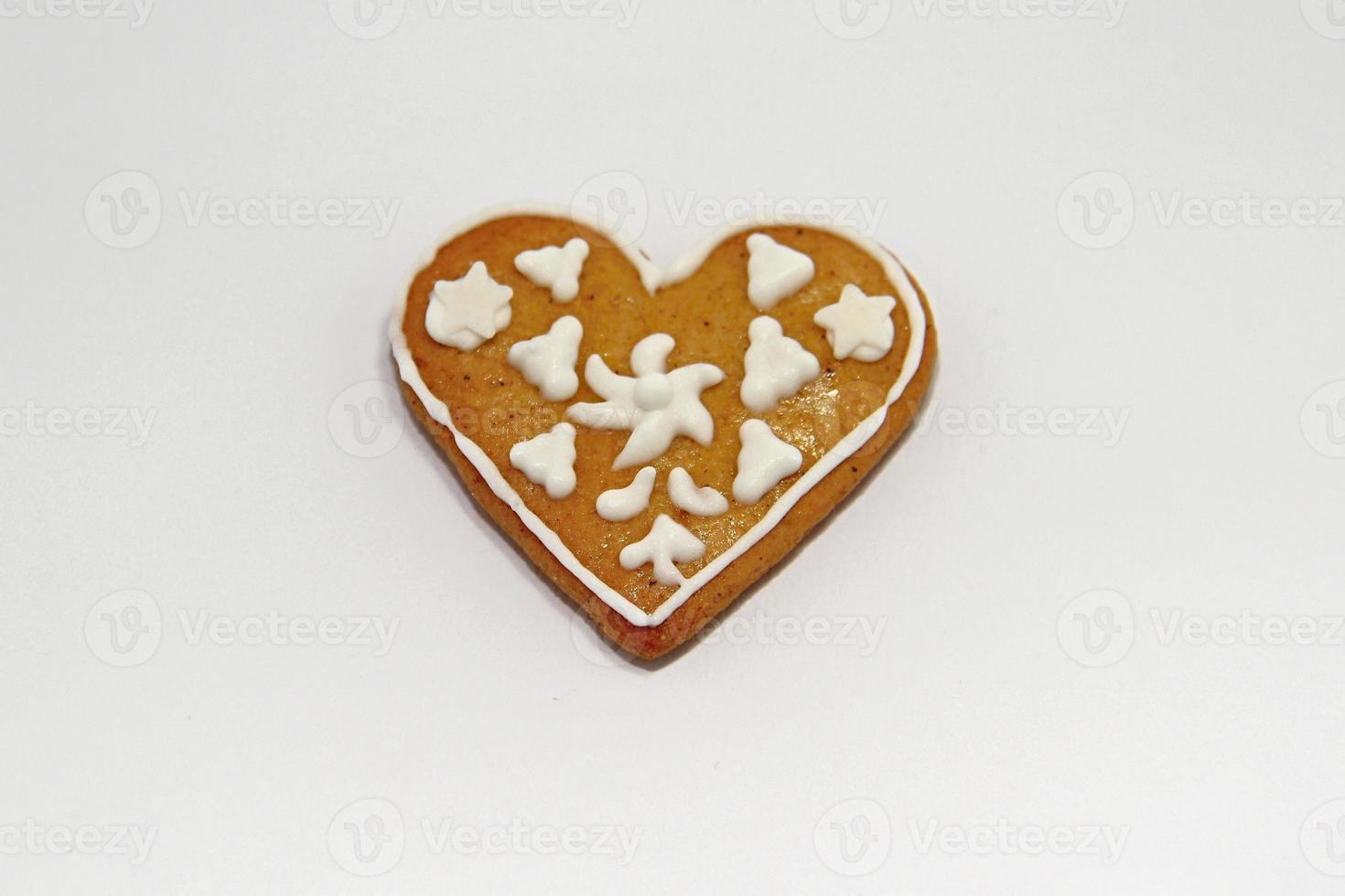 galletas de pan de jengibre de navidad foto
