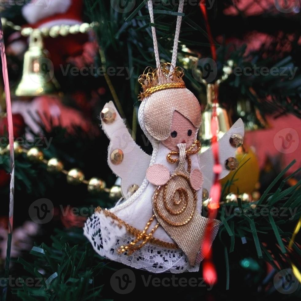 decoración navideña vintage foto