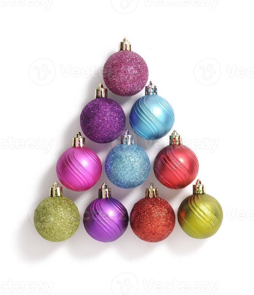 bolas de navidad foto