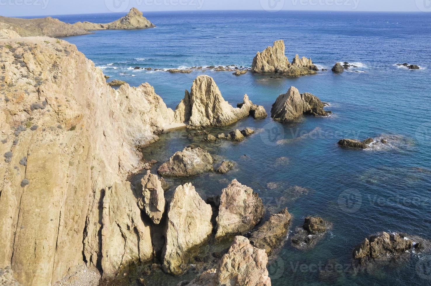 Reef of Las Sirenas, Cabo de Gata, Almeria (Spain) photo