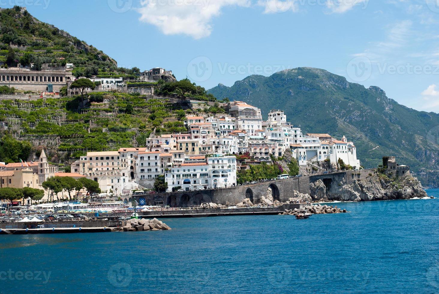 Amalfi Coast peninsula photo