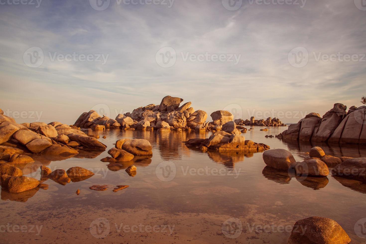 la playa de palombaggia, la playa más famosa de Córcega foto