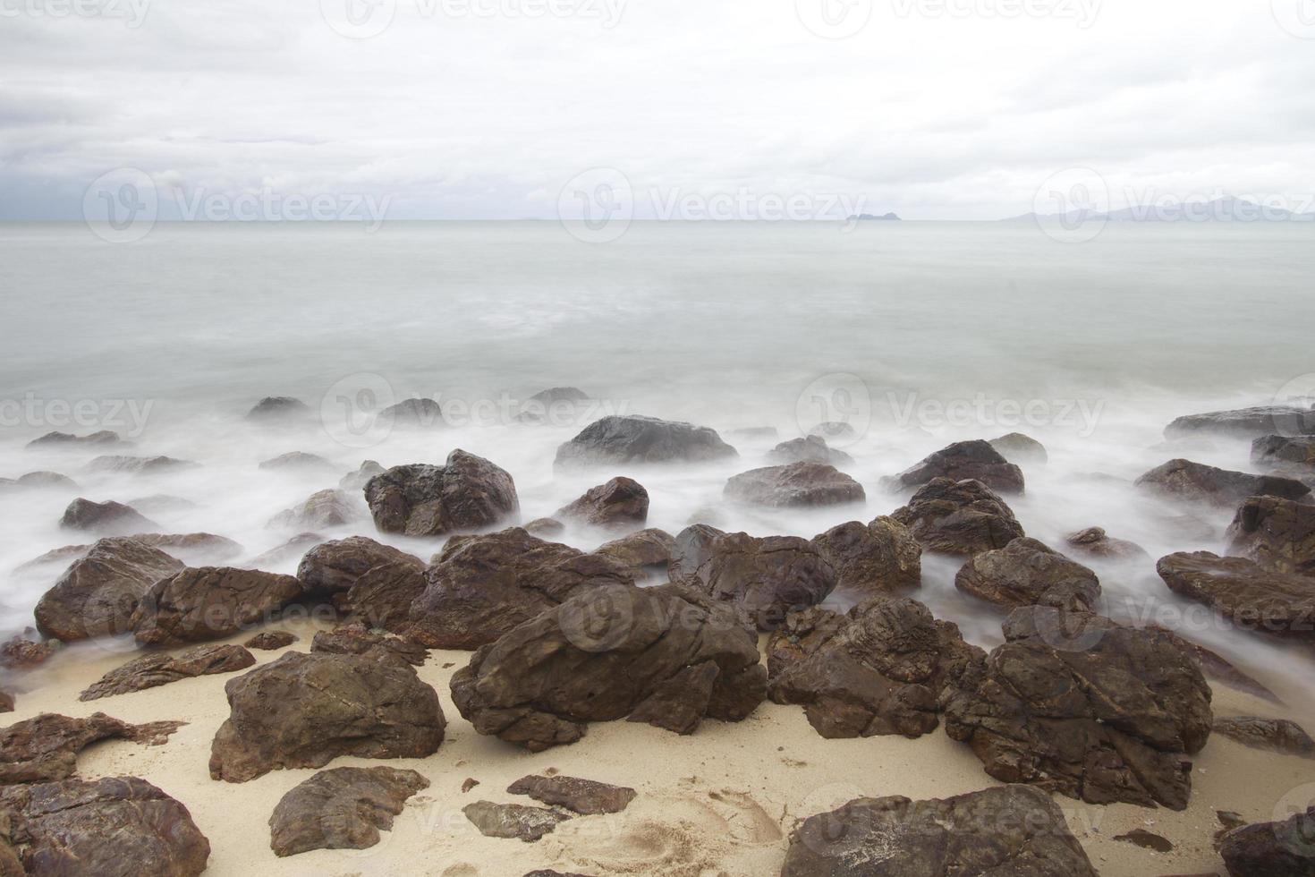 Sea Koh Samui Island in Thailand photo