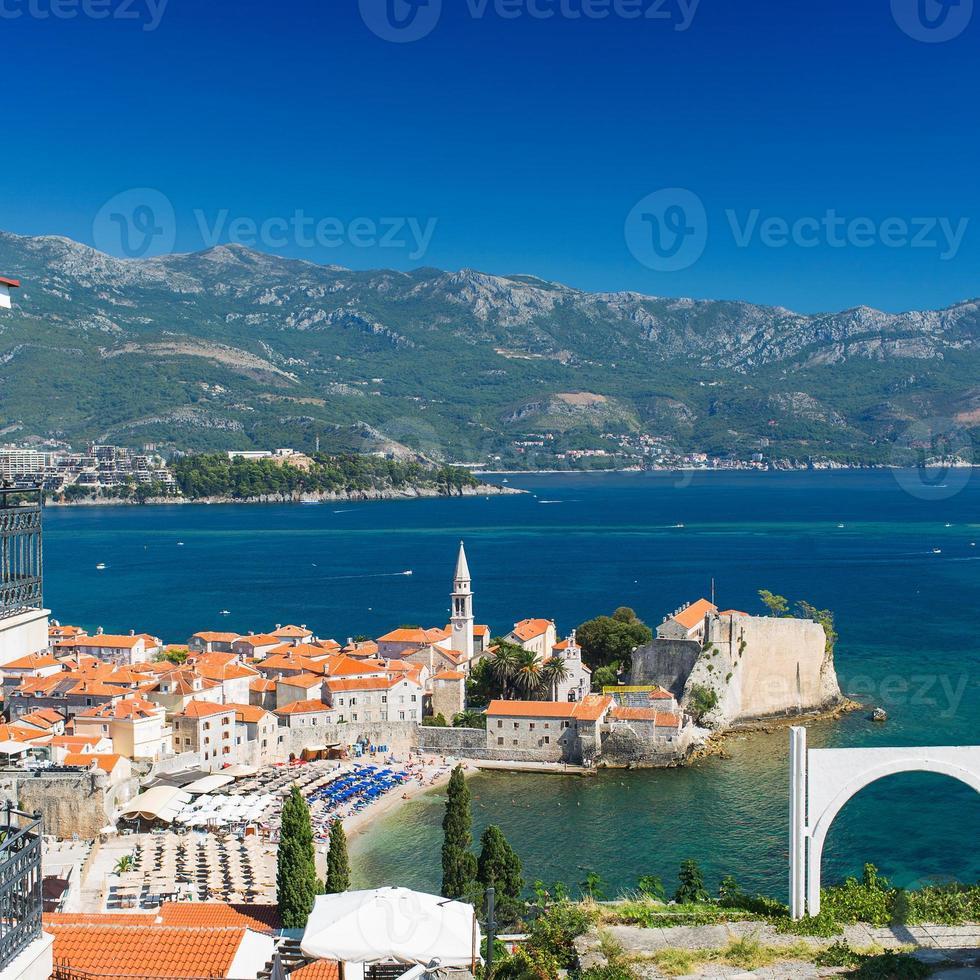 Montenegro, Budva, old town photo