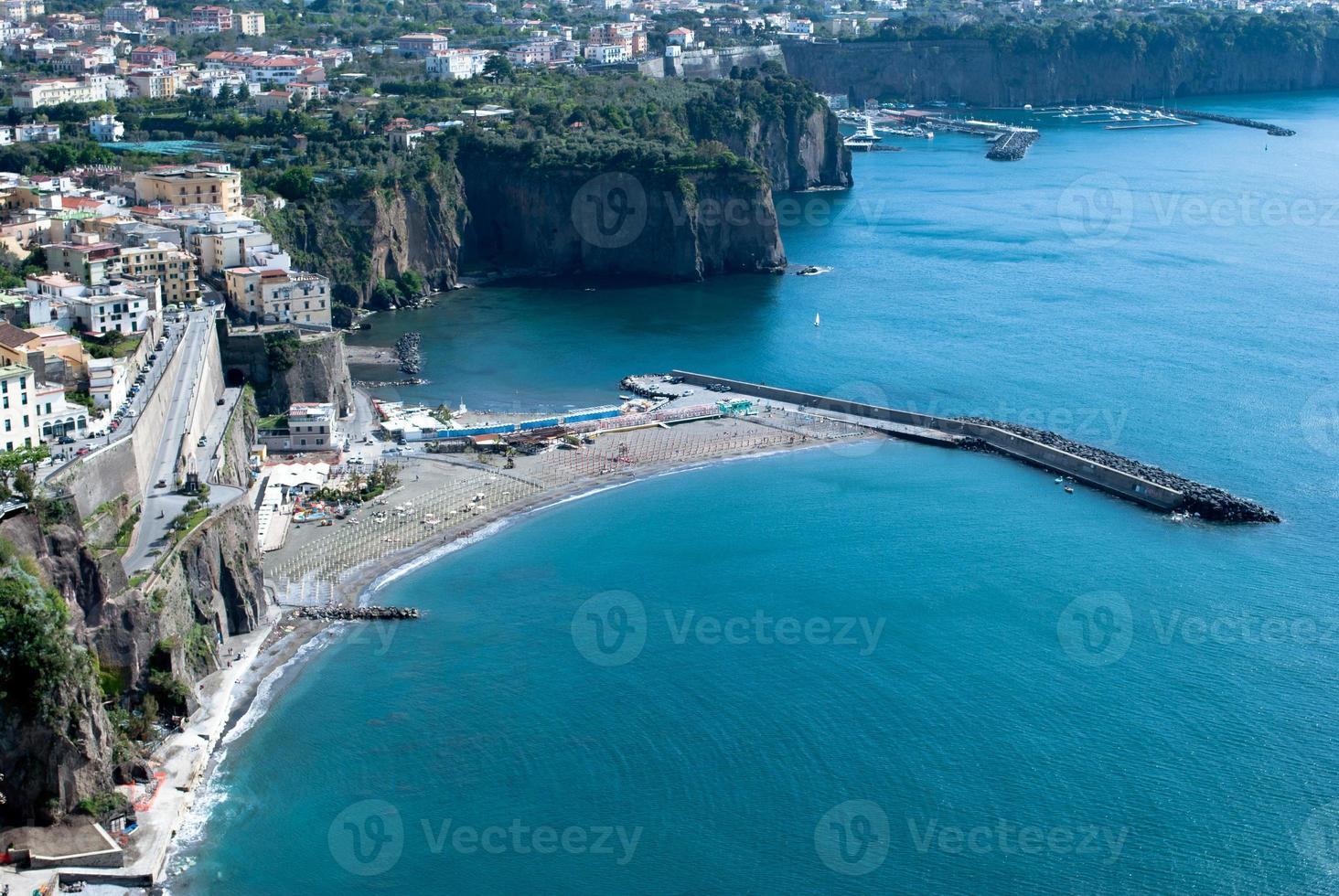 Meta village of Sorrento, Italy photo