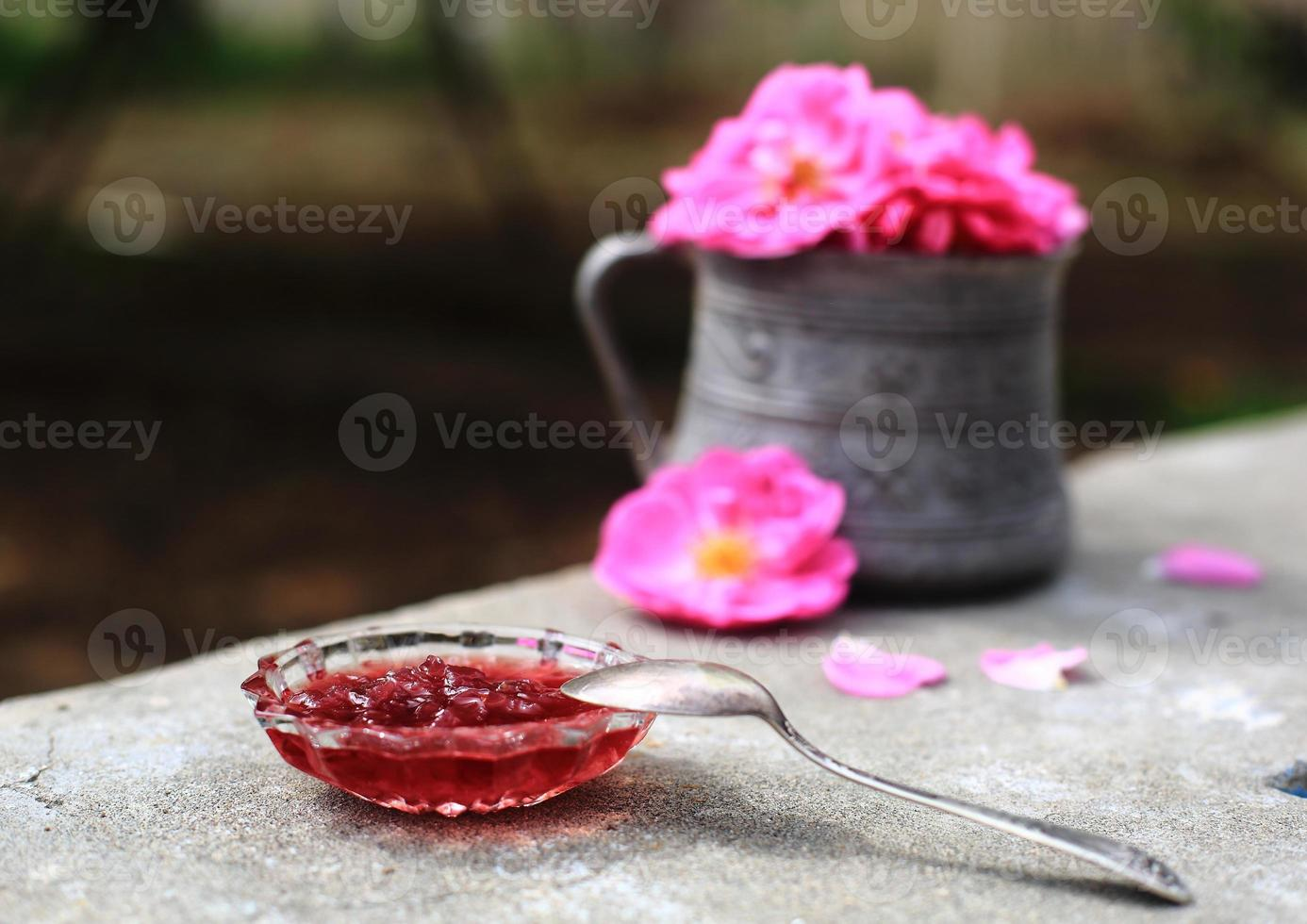Rose jam photo