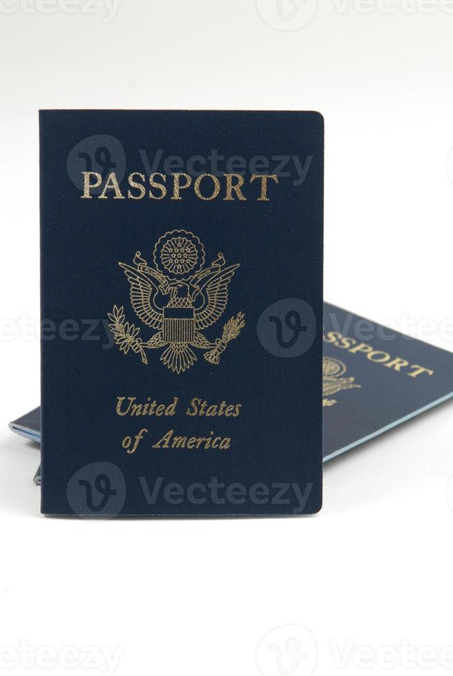 United States of America Passport detail image photo