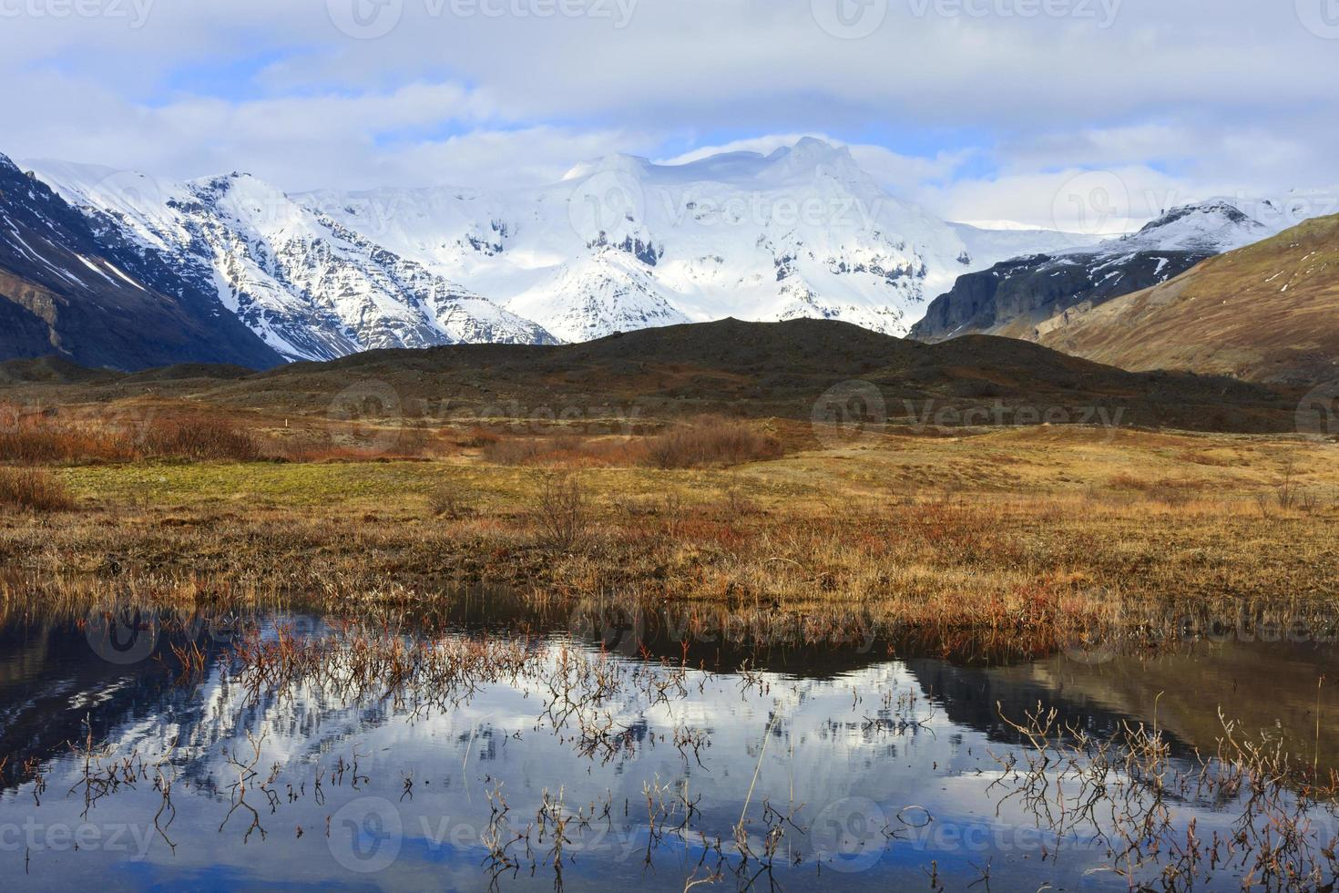 Skaftafell National Park in Iceland photo