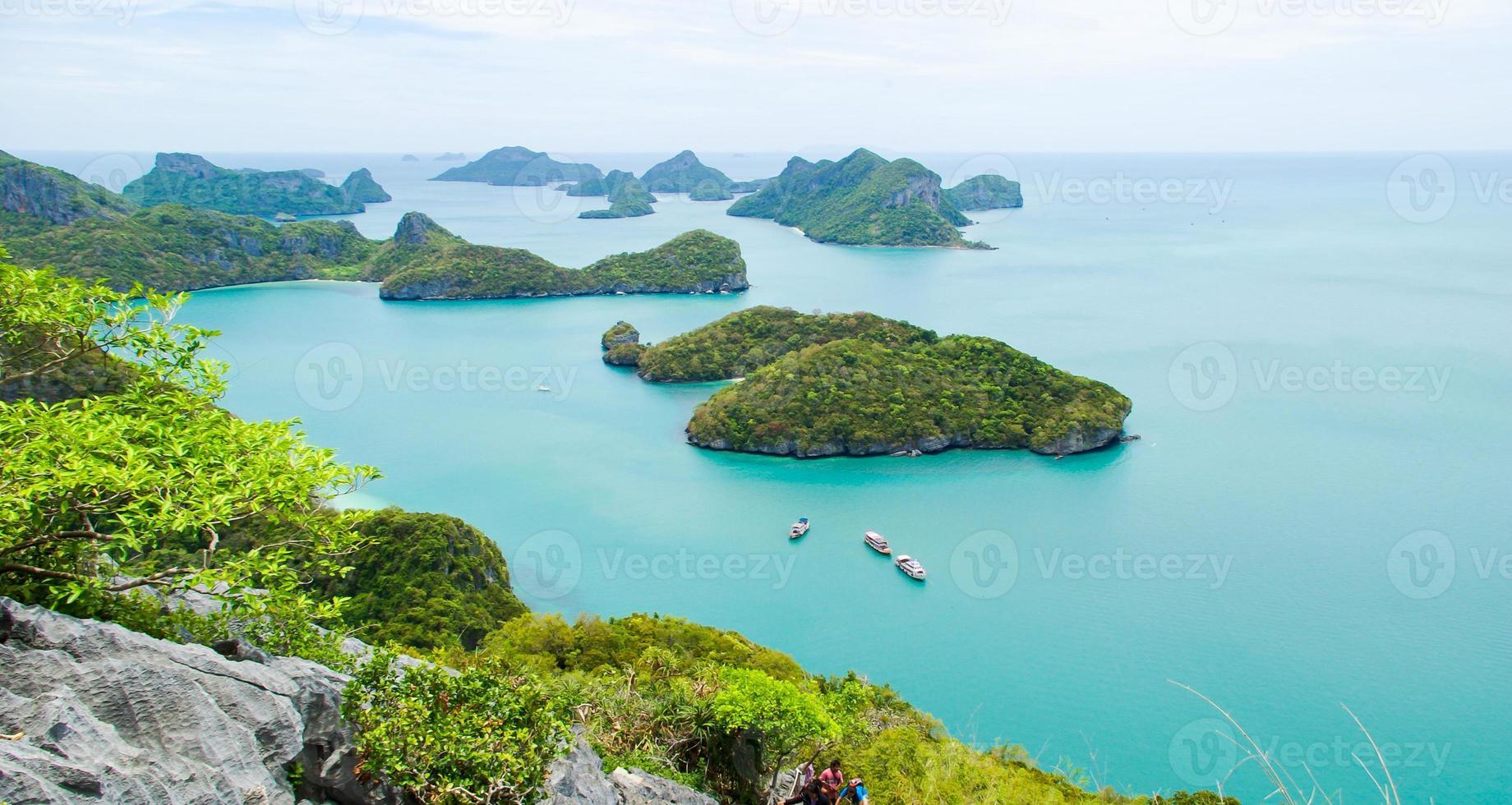 View of Ang Thong National park island photo