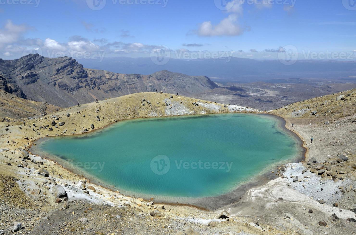 Emerald lake, New Zealand photo