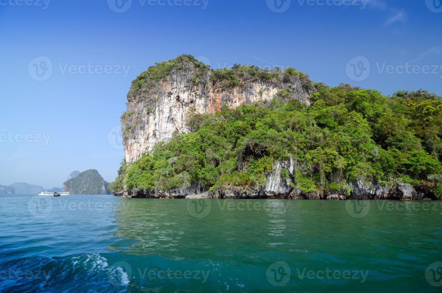 National Park in Phang Nga Bay, Thailand photo