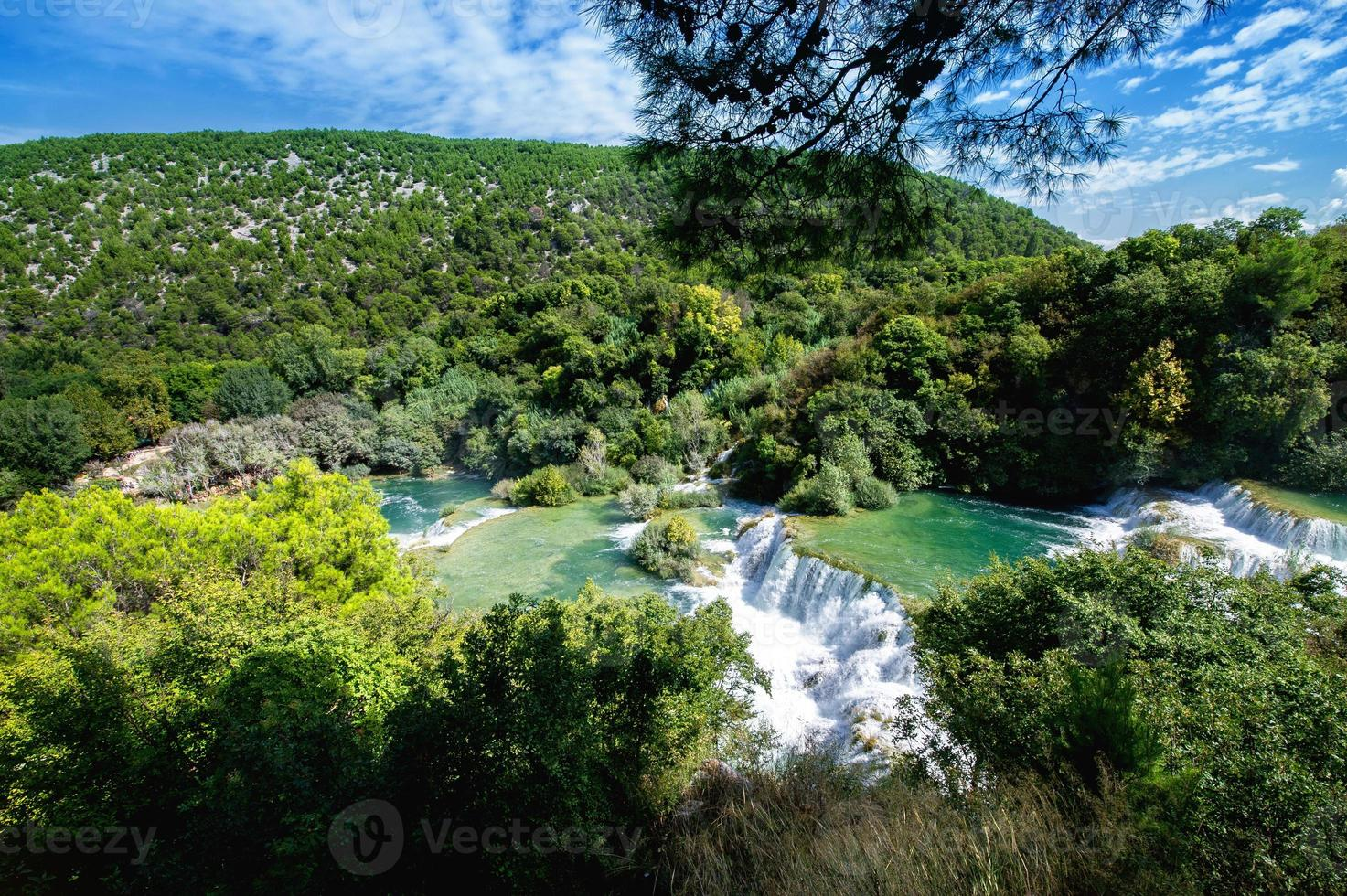Waterfalls Krka photo