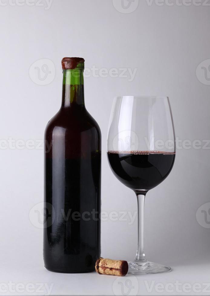 Vintage wine photo