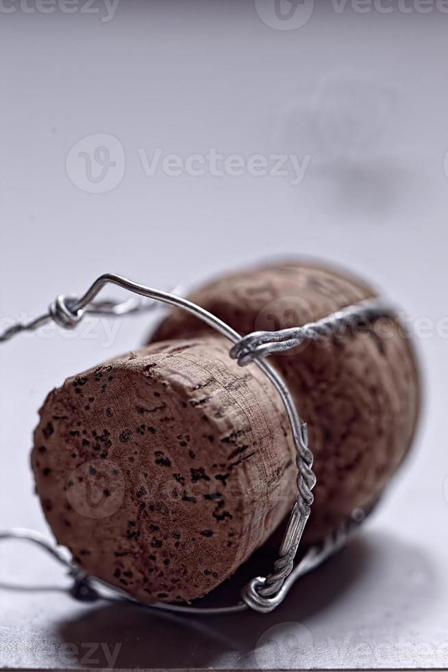 champagne or sparking wine cork photo
