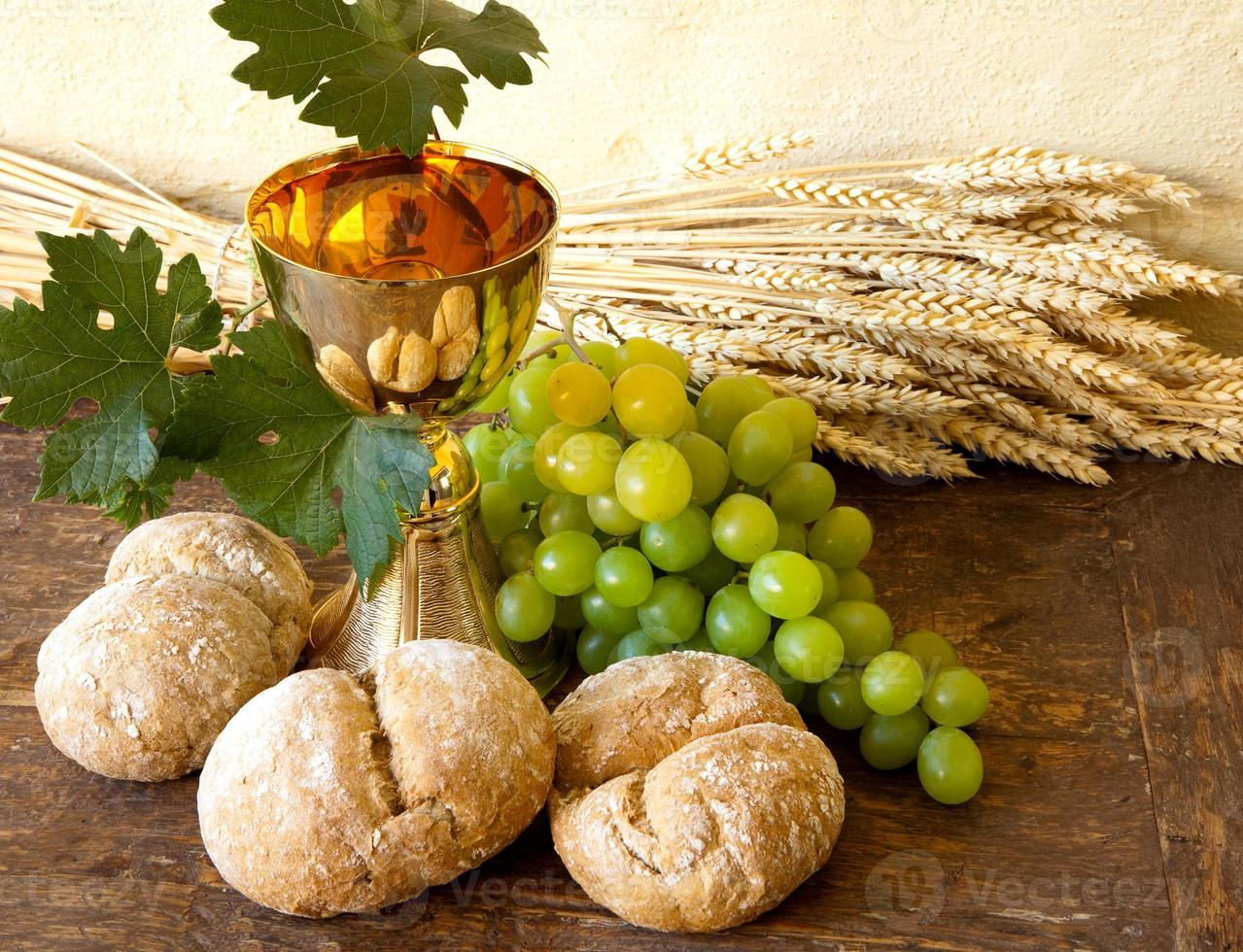 Grapes for holy wine photo