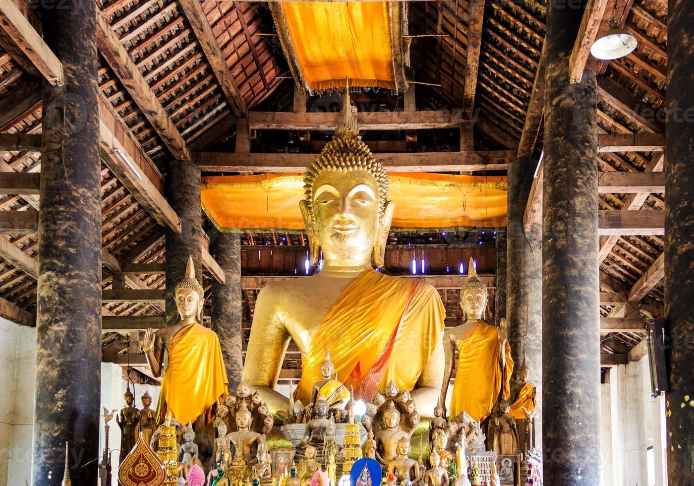 Image of Buddha in Vat Visounnarath photo