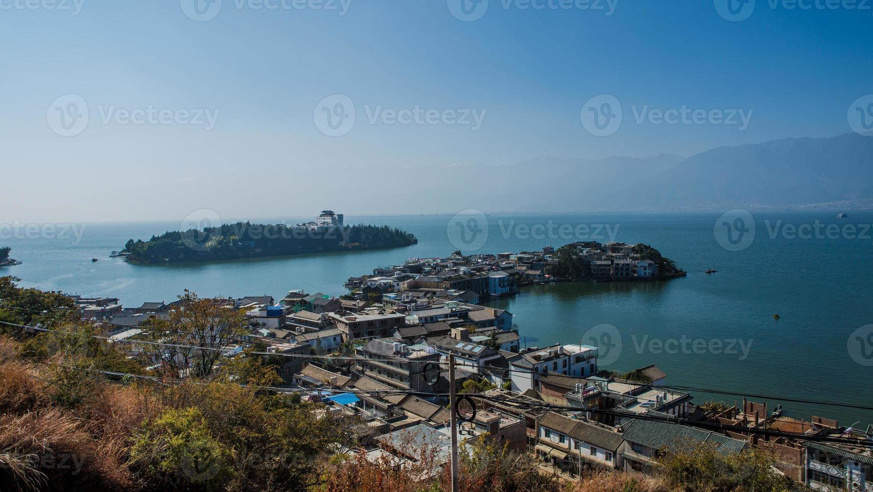 Dali Gallery panoramic double photo