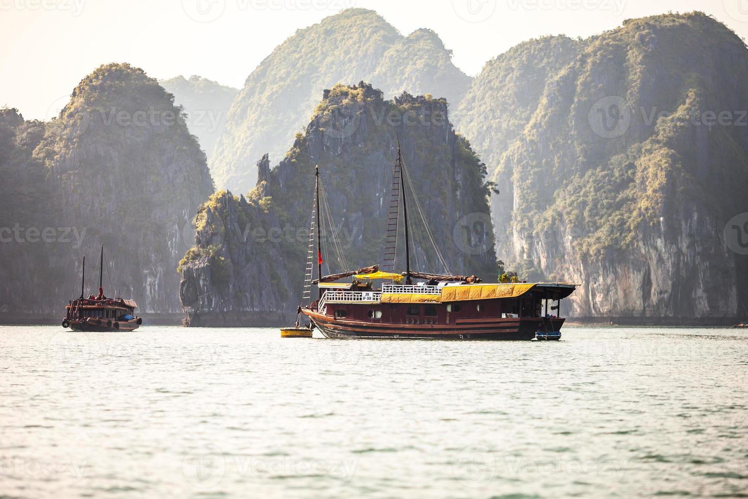 ha long bay, vietnam foto