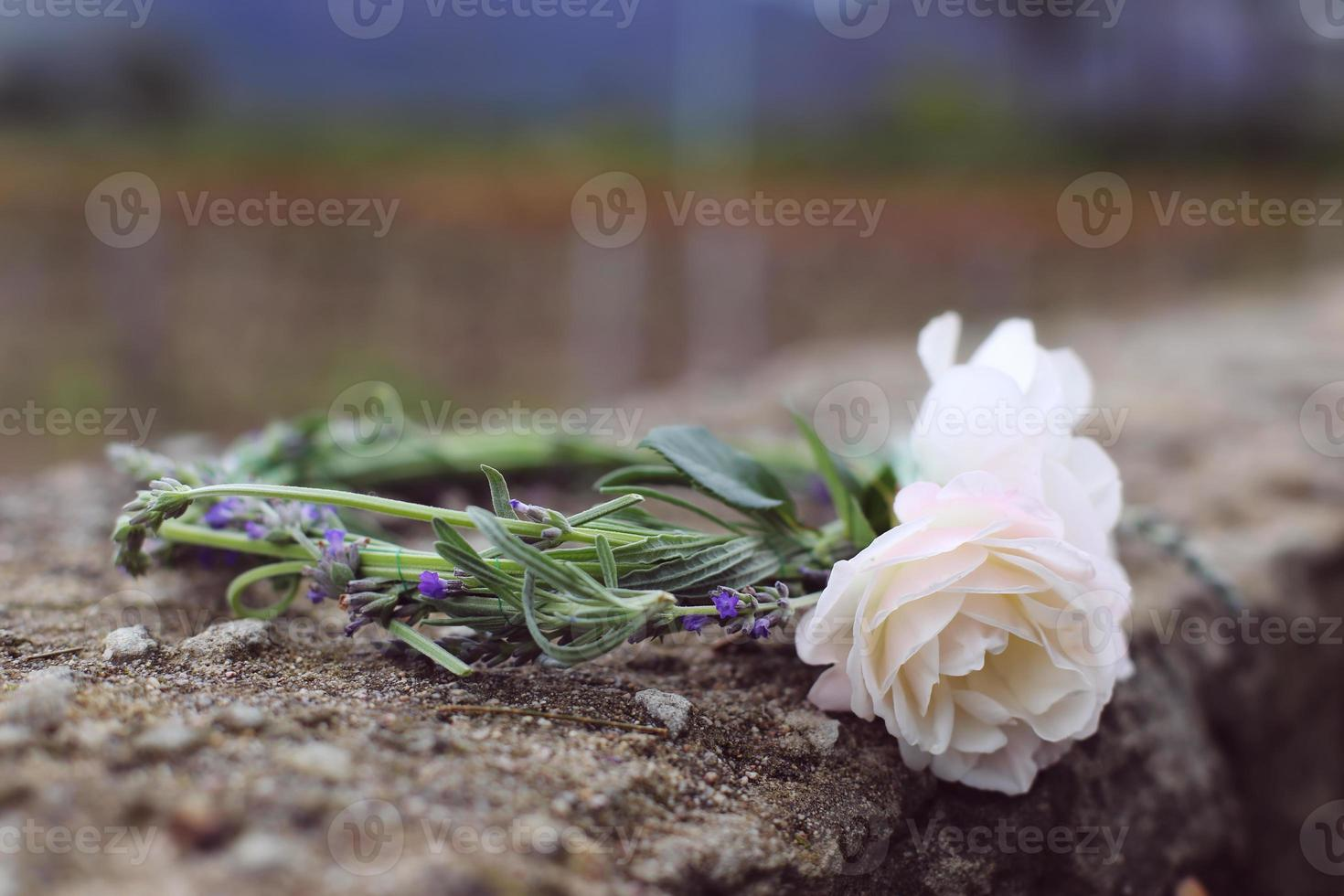 Headband Lavander and Roses photo