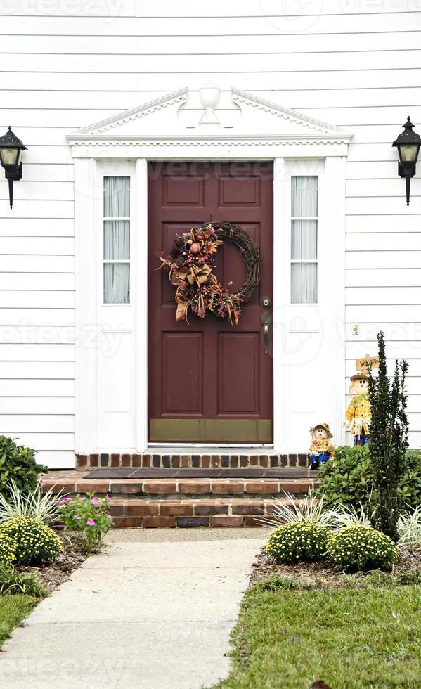 caída de la puerta principal foto