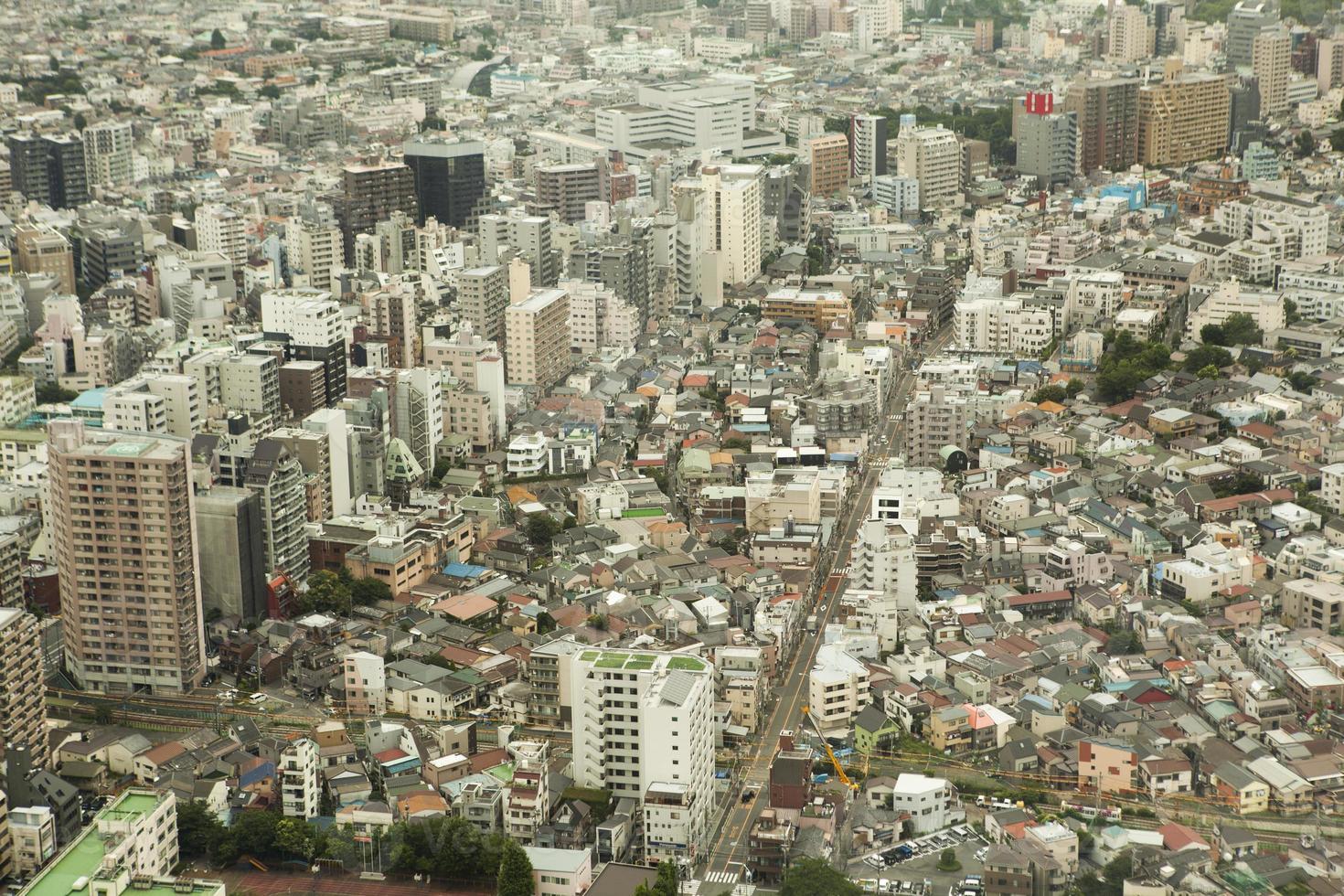 aérea de Tóquio foto