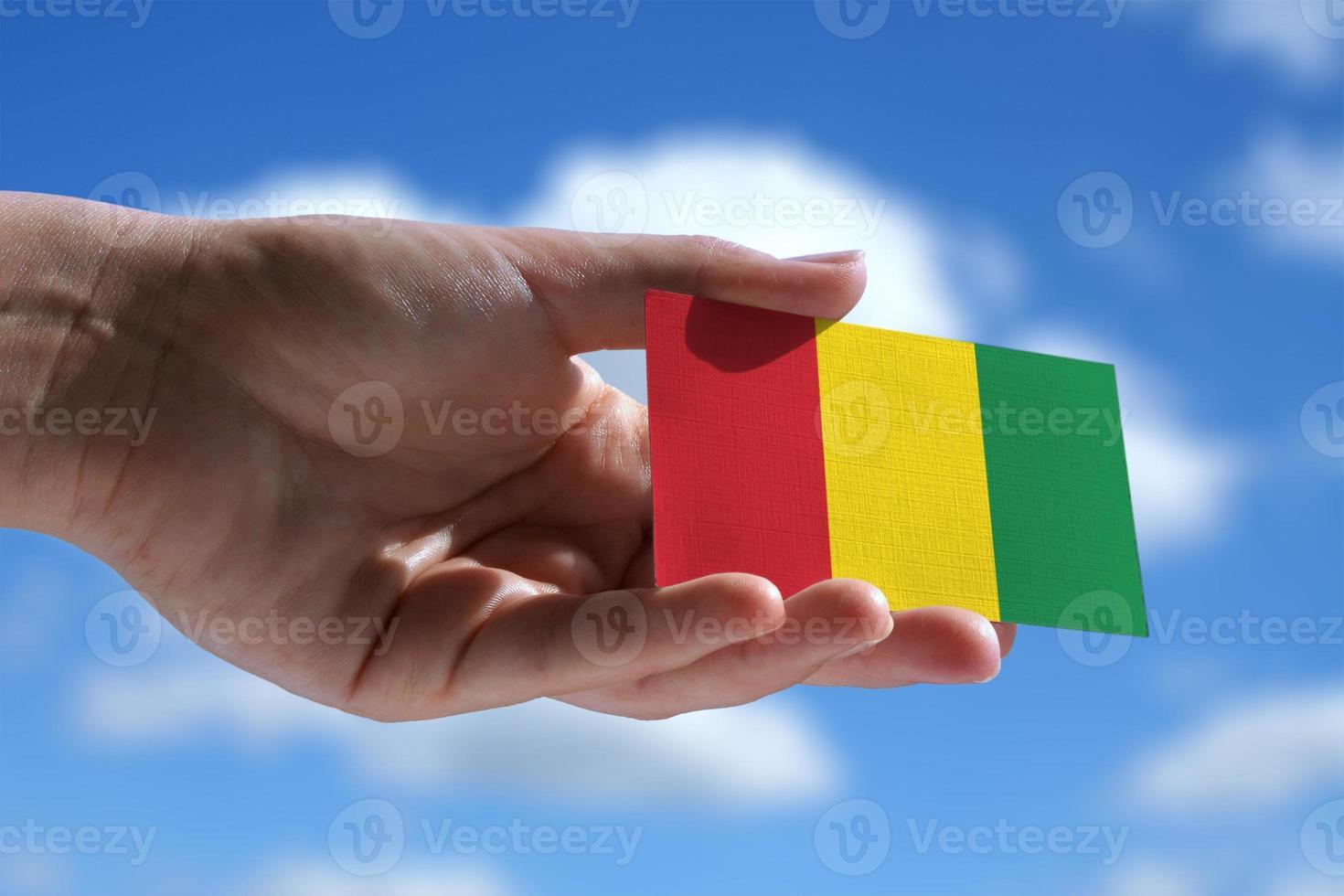 Small Reggae music flag photo