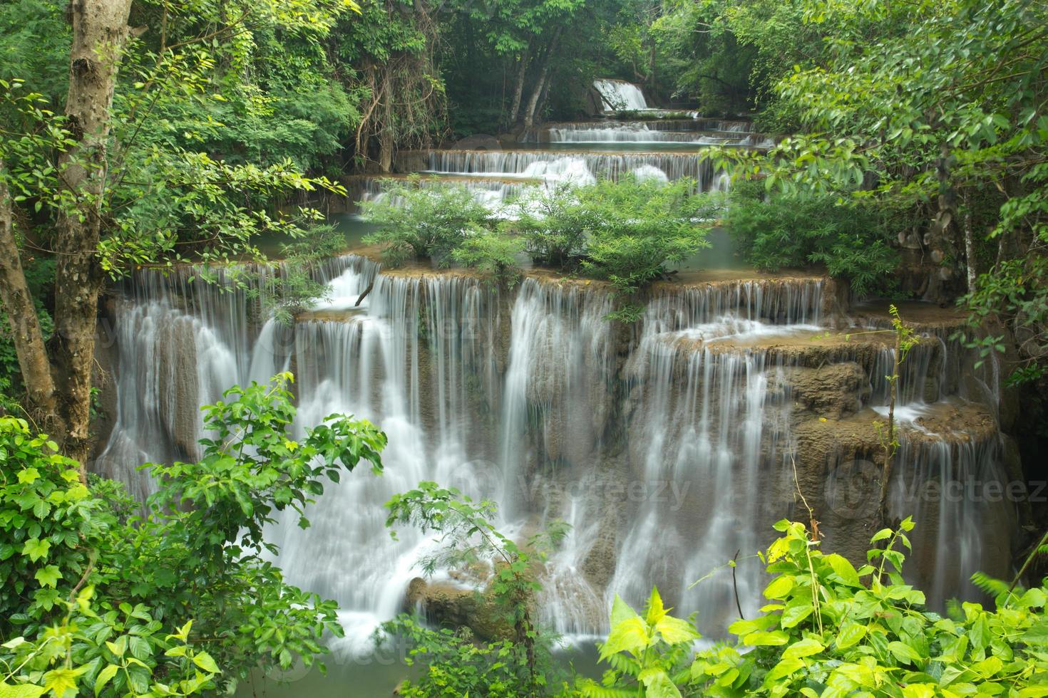 cascada en tailandia foto