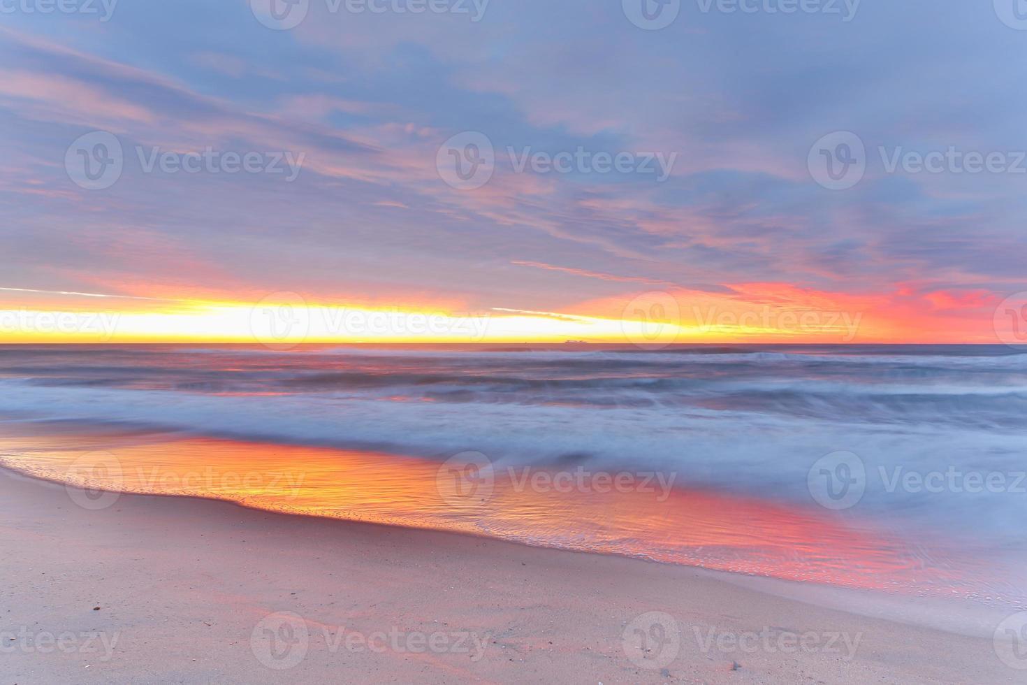 Sunrise beach photo