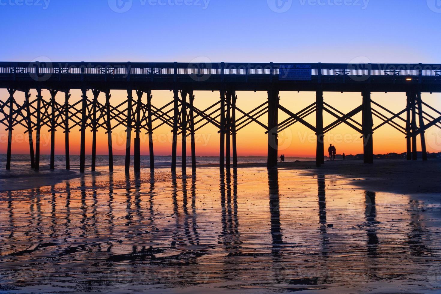 Folly Beach pier photo
