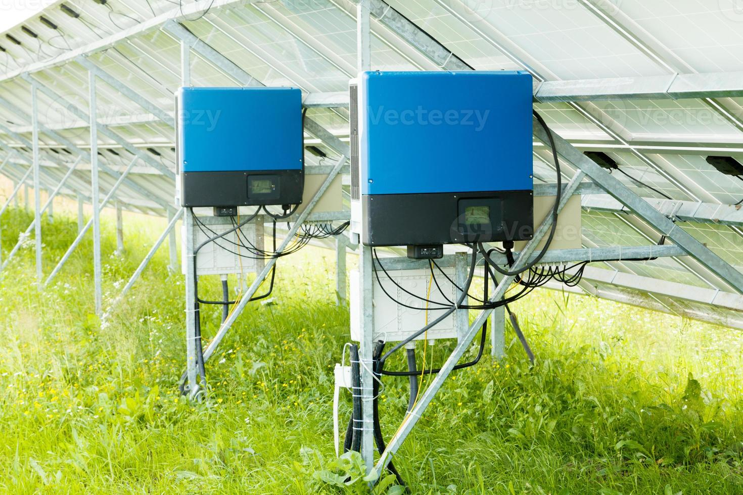 Solar panel collector photo